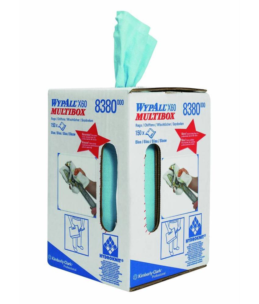 WYPALL* X60 Doeken - combirol - Blauw