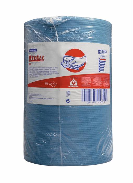 WYPALL* X80 Doeken - grote rol - Staalblauw