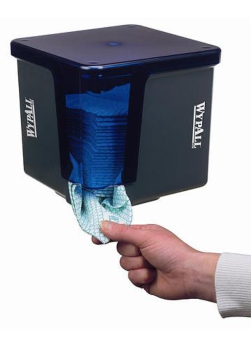 WYPALL* Poetsdoek Dispenser - Kwartgevouwen - Grijs