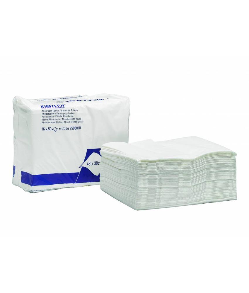 KIMTECH* Absorberende handdoeken - Z gevouwen - Wit