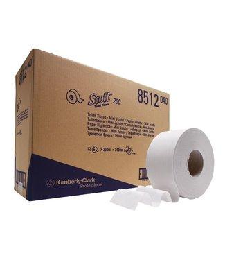 Kimberly Clark SCOTT® PERFORMANCE Toilettissue - Jumbo / 200 M / 76 - Wit