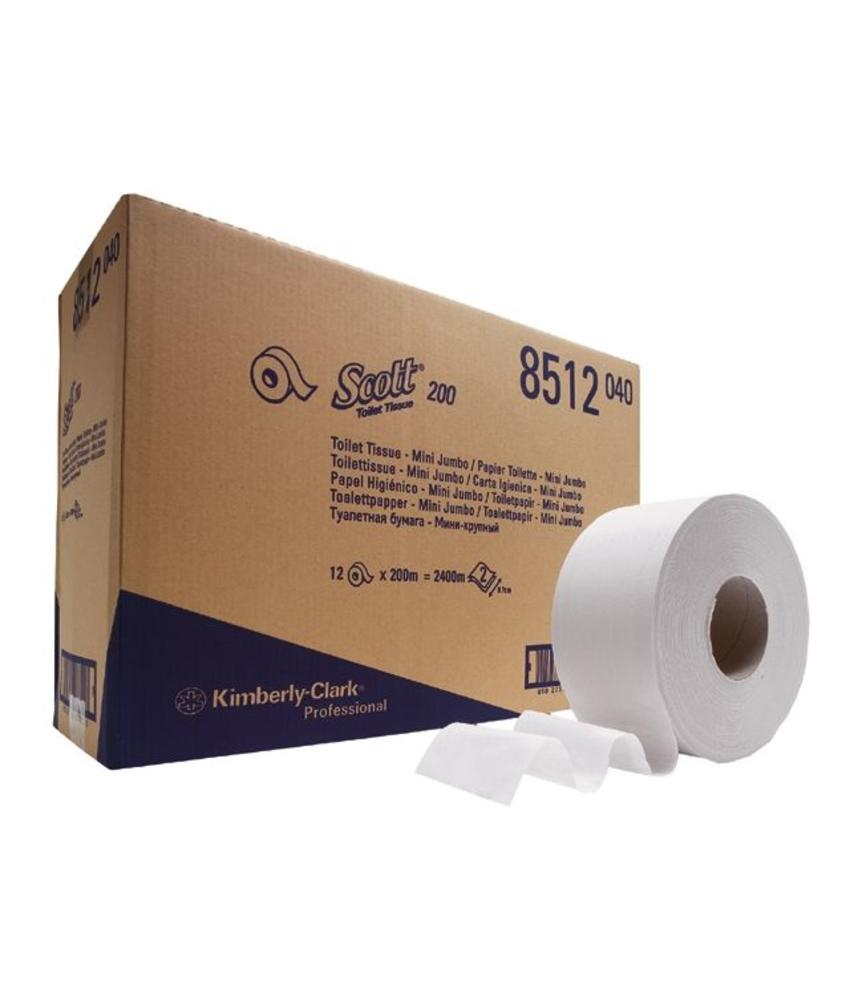 SCOTT® PERFORMANCE Toilettissue - Jumbo / 200 M / 76 - Wit
