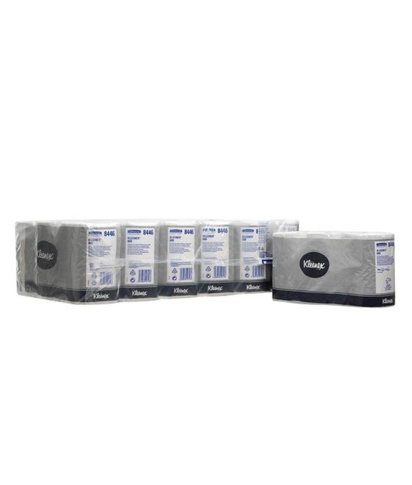 KLEENEX® Toilettissue Rollen - Kleine rollen / 600 - Wit
