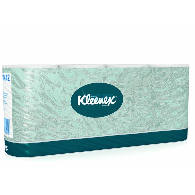 KLEENEX® Toilettissue Rollen - Standaard / 350 - Wit