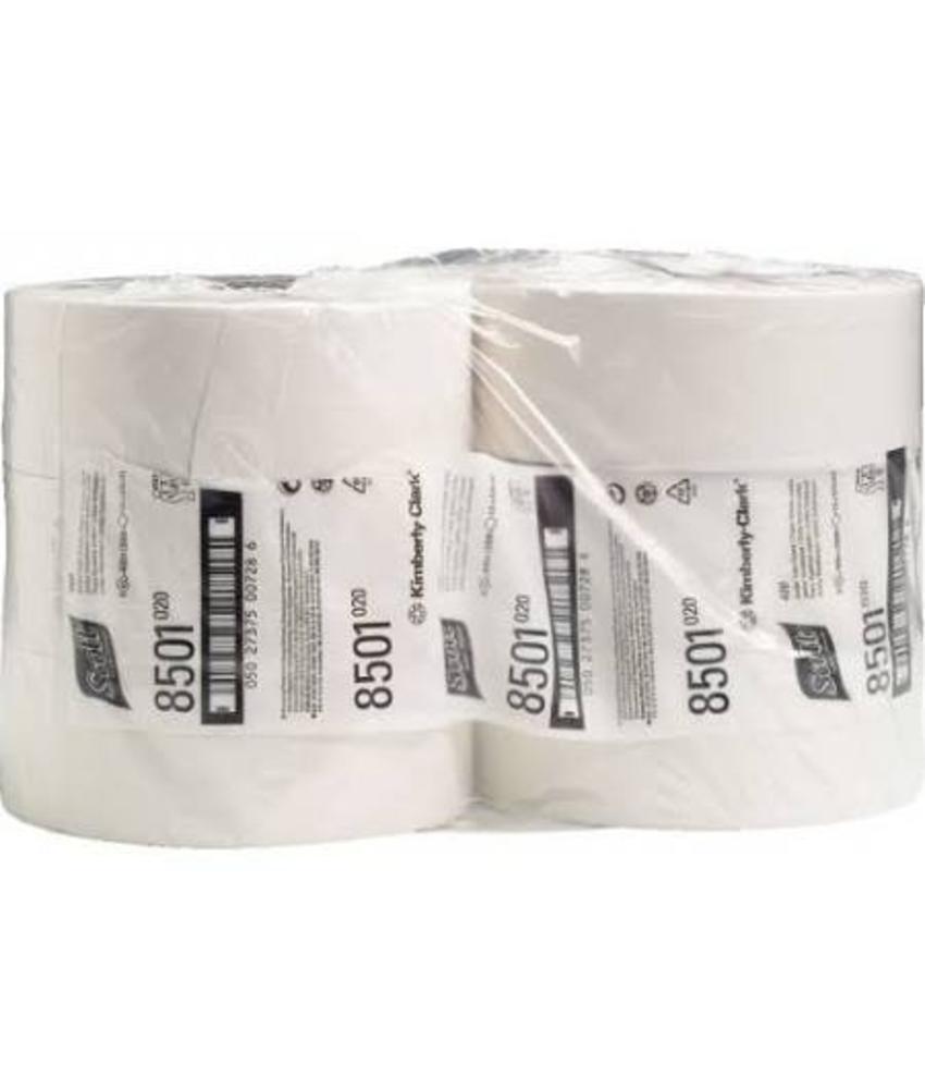 SCOTT® PERFORMANCE Toilettissue - Jumbo / 400 M / 76 - Wit