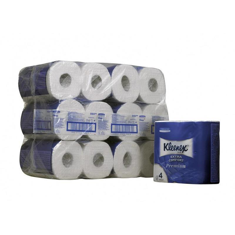 KLEENEX® Toilettissue Rollen - Kleine rollen / 160 vel - Wit