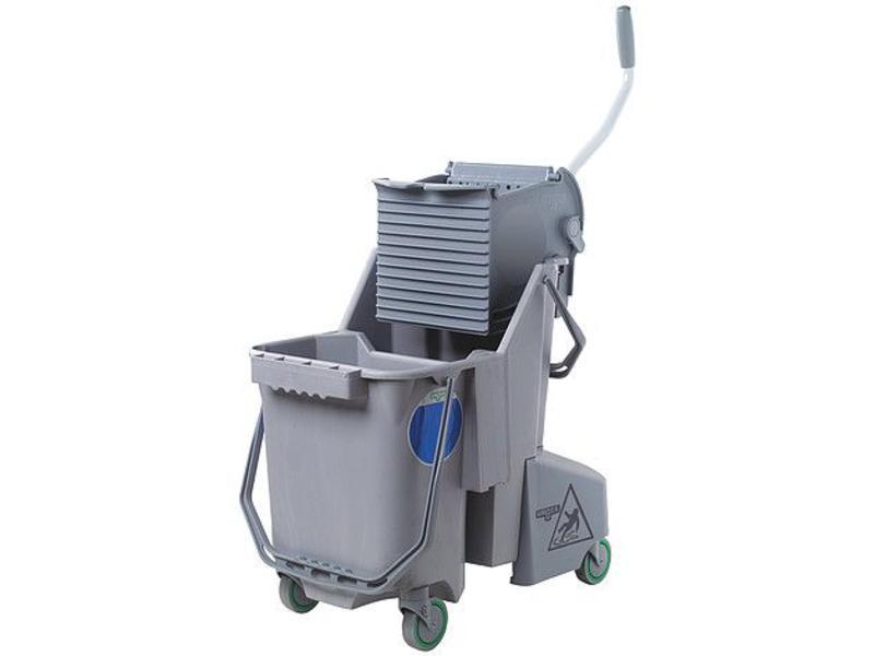 Unger Unger SmartColor™ Combo 30l (Rolemmer + Pers), grijs