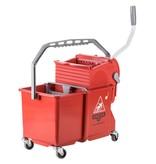 Unger Unger SmartColor Bucket 15l (Rolemmer + Pers), rood
