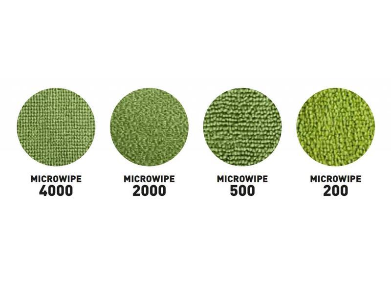 Unger Unger SmartColor™ MicroWipe 2000, Microvezeldoek, geel