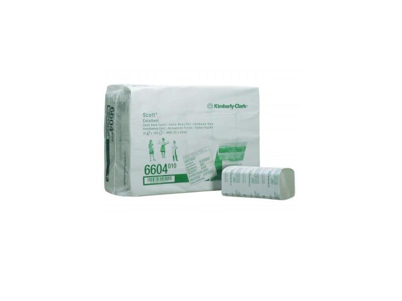 Kimberly Clark SCOTT® EXCELLENT Handdoeken - Intergevouwen / Klein - Wit