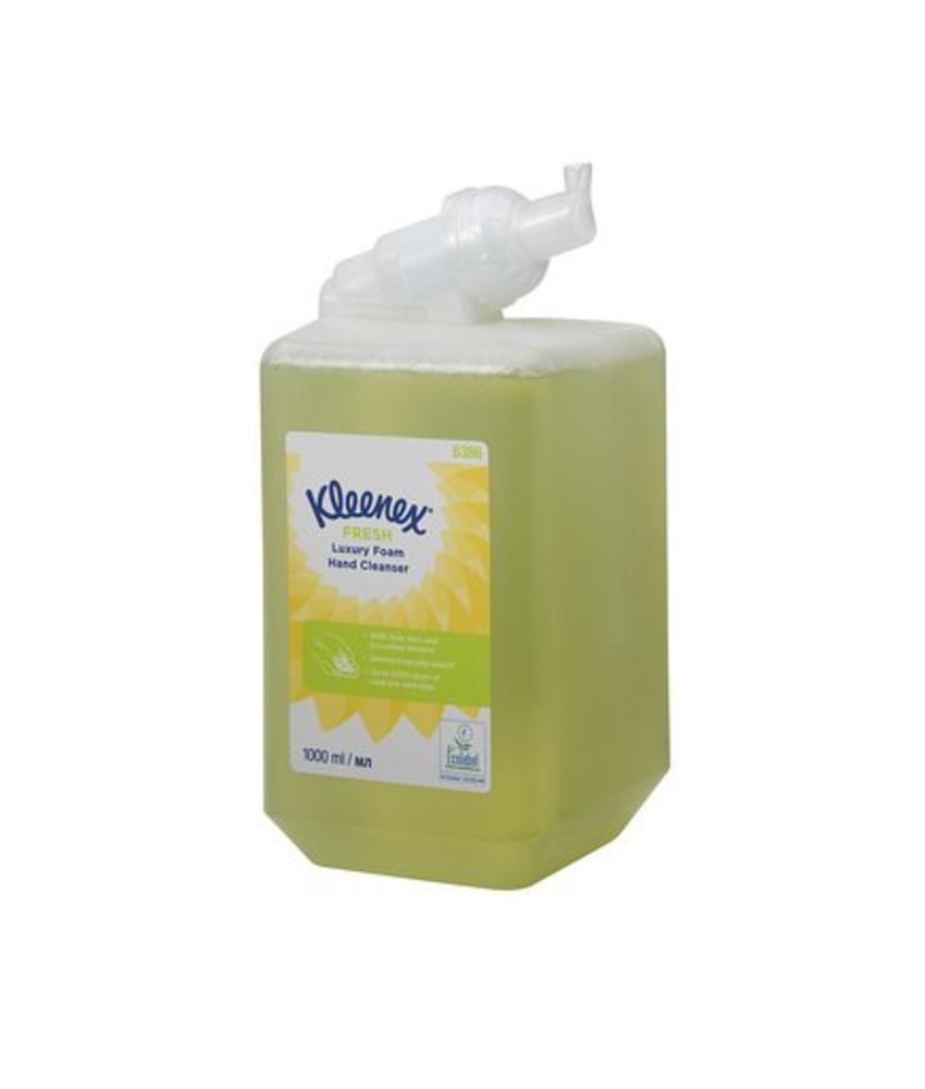 KLEENEX® FRESH Luxury Foam Hand Cleanser - 1 Litre Cassette / 1 Ltr - Groen