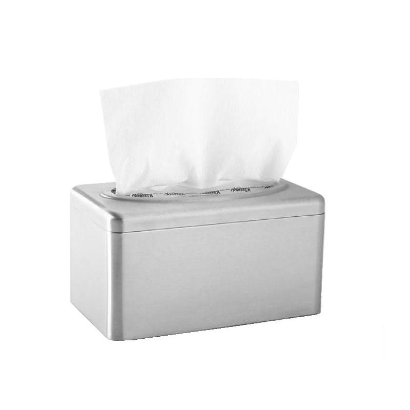 KIMBERLY-CLARK PROFESSIONAL* RVS Handdoeken Dispenser - POP-UP Doos / Small - Zilverkleurig