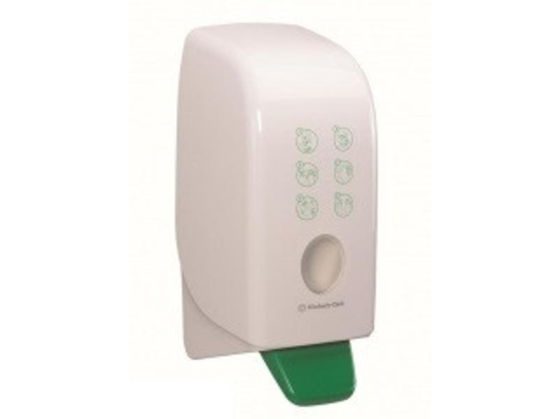 Kimberly Clark AQUARIUS* Hand Crème Dispenser - Cassette / 1 Ltr - Wit