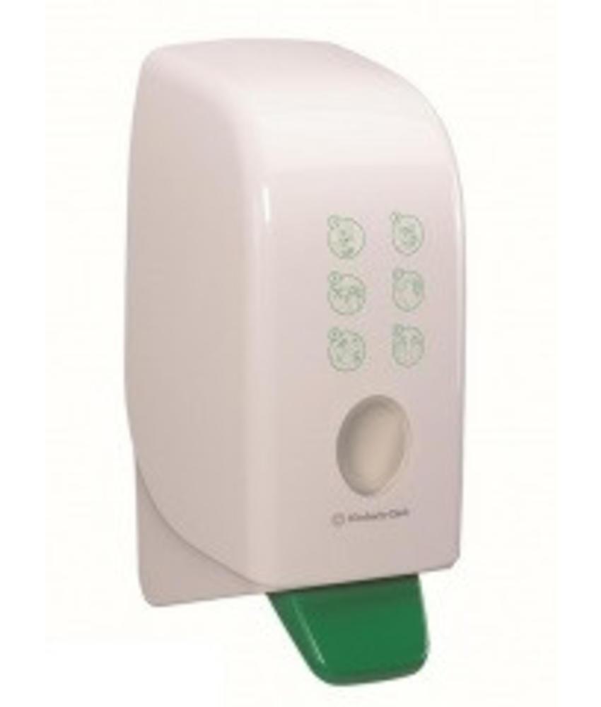 AQUARIUS* Hand Crème Dispenser - Cassette / 1 Ltr - Wit