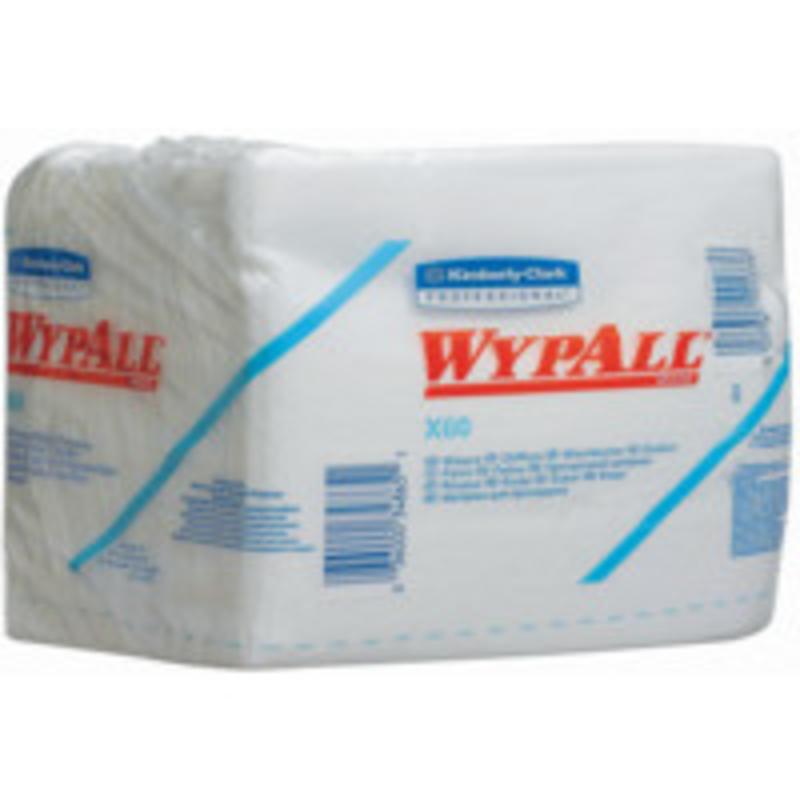 WYPALL* X60 Doeken - 1/4 Gevouwen - Wit