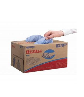 Kimberly Clark WYPALL* X60 Doeken - Draagdoos - Blauw