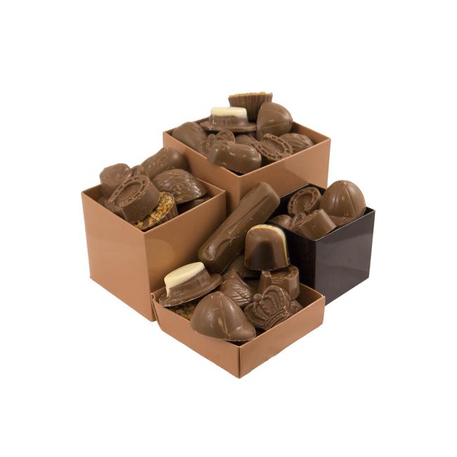Chocolade bonbons met vulling 1000 gram XXL