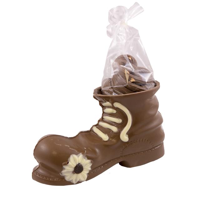 Chocolade schoen heren (Hoog) 225 gram
