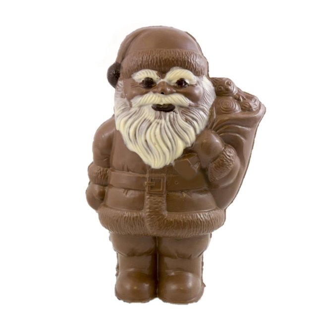 Chocolade kerstman klein 25 cm