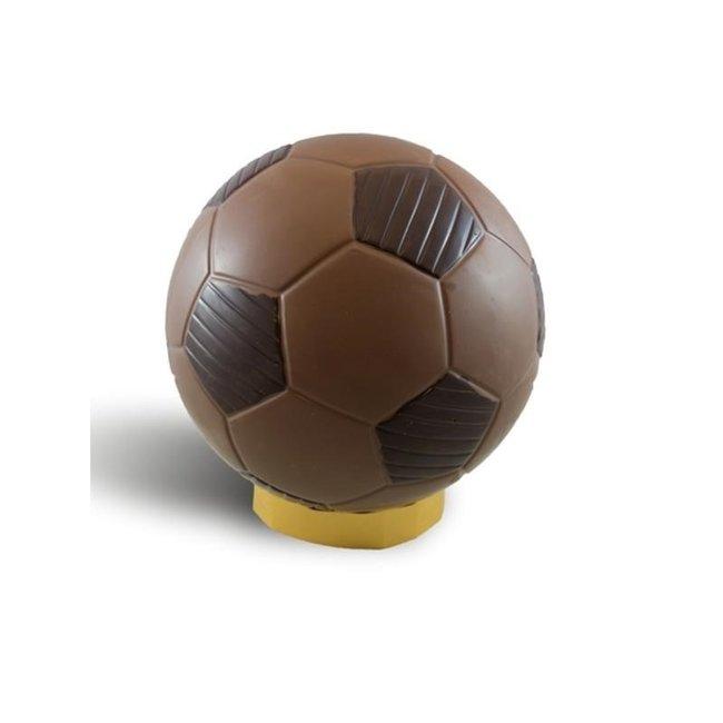 Chocolade voetbal 23 cm wedstrijd formaat