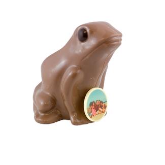 Chocolade Kermit de Kikker 20 cm met foto of logo
