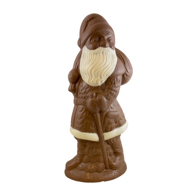XXL chocolade kerstman 70 cm groot