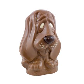 Chocolade Hond 20 cm groot