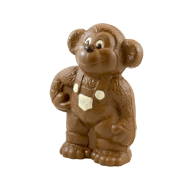 Chocolade aap 27 x 16 x 10 cm