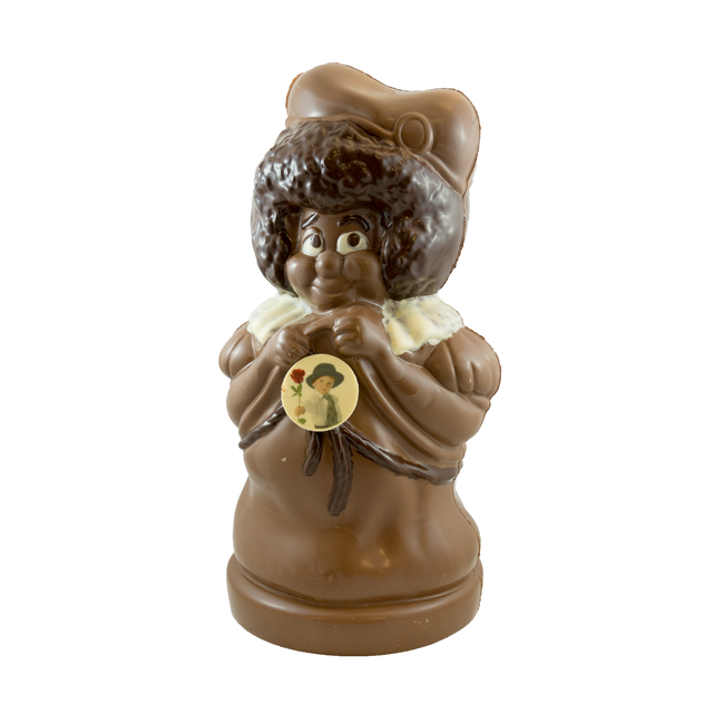 Chocolade Piet XXL 70 cm met foto of logo