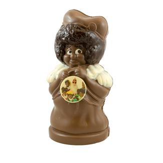 Chocolade Pieterman XL met foto of logo 50 cm