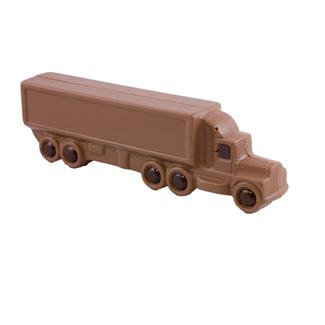 Chocolade Vrachtwagen met neus 25 cm x 9 cm