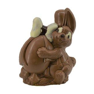Chocolade Paashaasje 21 cm