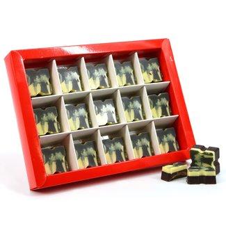 Bonbons (PUUR) vierkant 15 stuks met foto