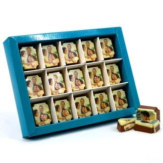 Bonbons (MELK) rechthoek 15 stuks met foto