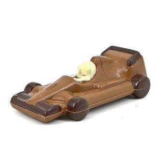 Chocolade Formule 1 racewagen 22 cm