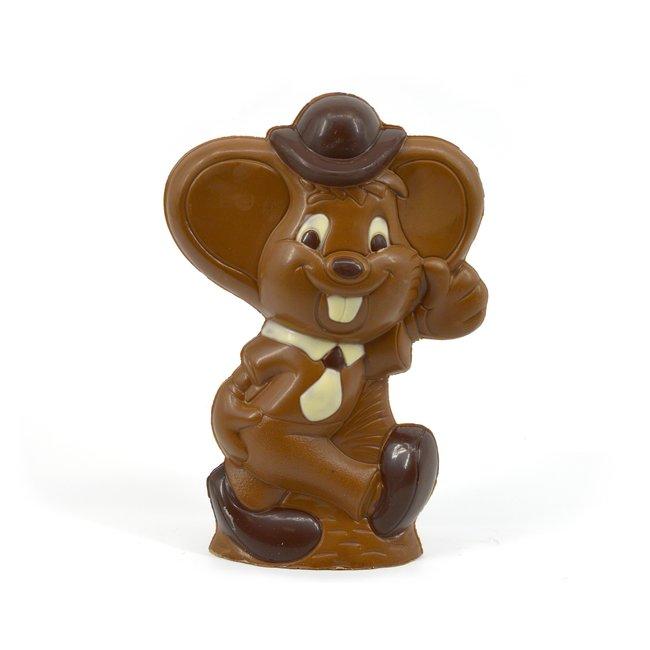 Chocolade Jerry de muis 23 cm