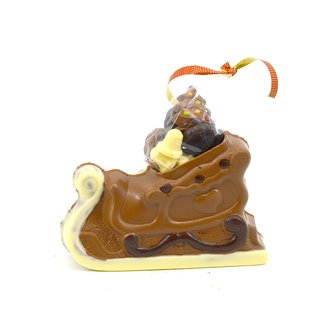 Chocolade Arrenslee 20 cm