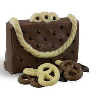 Chocolade handtas gevuld
