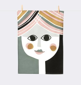 Ferm Living Mrs Tea Towel