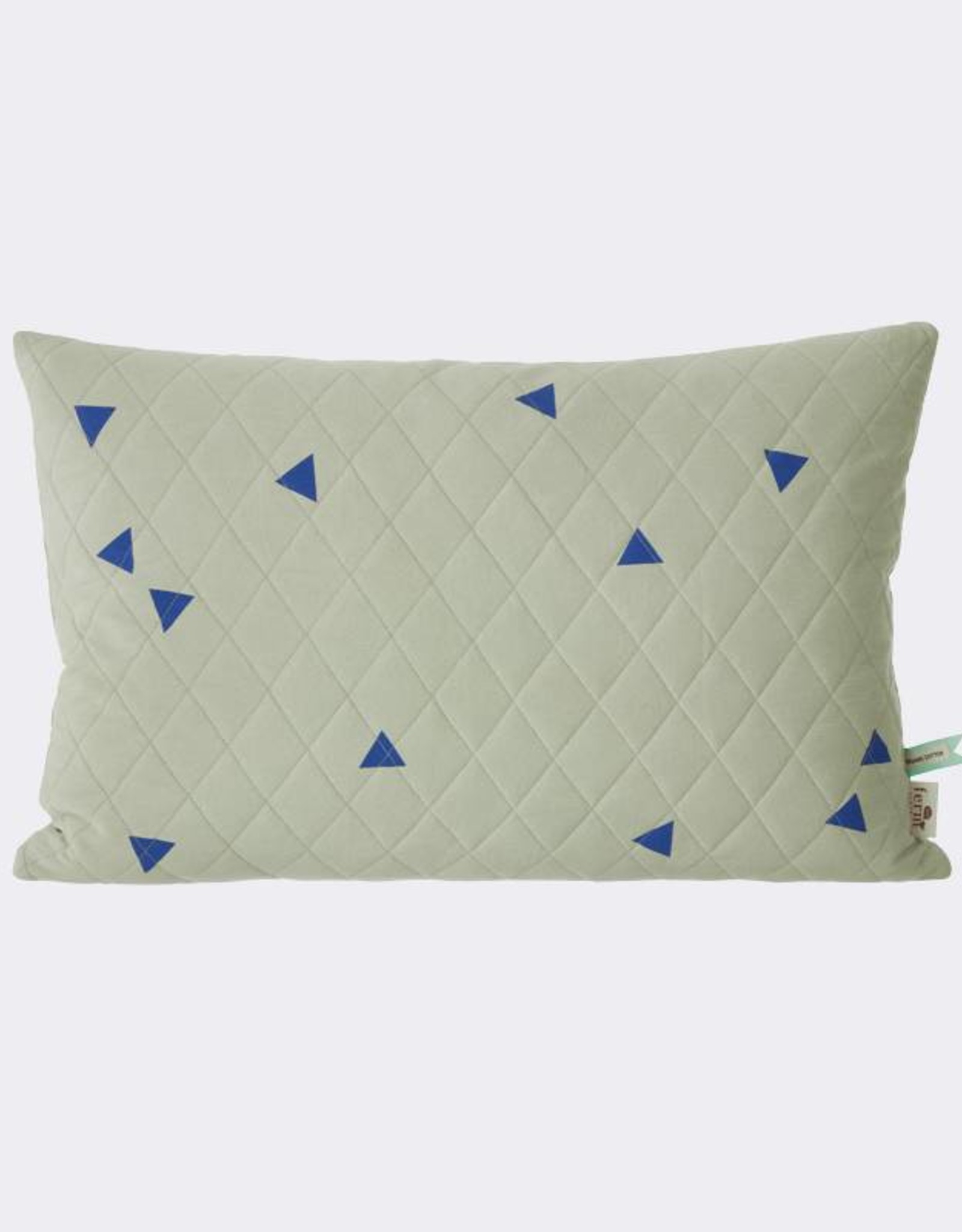 Ferm Living Teepee Cushion Mint