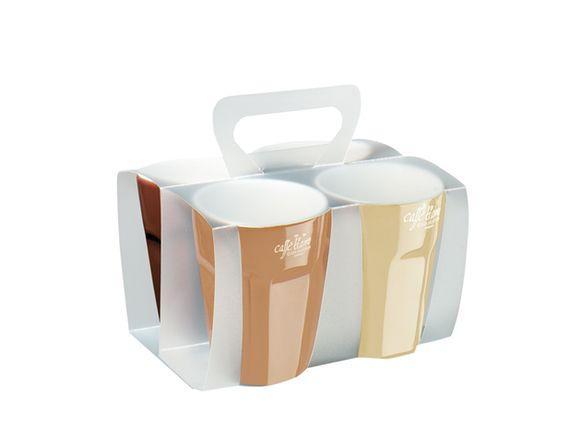 Asa Selection 4 Cappuccino Cups