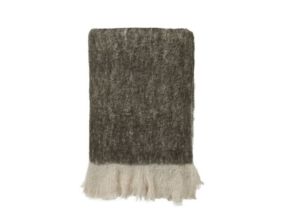 By Nord Throw Dark Brown