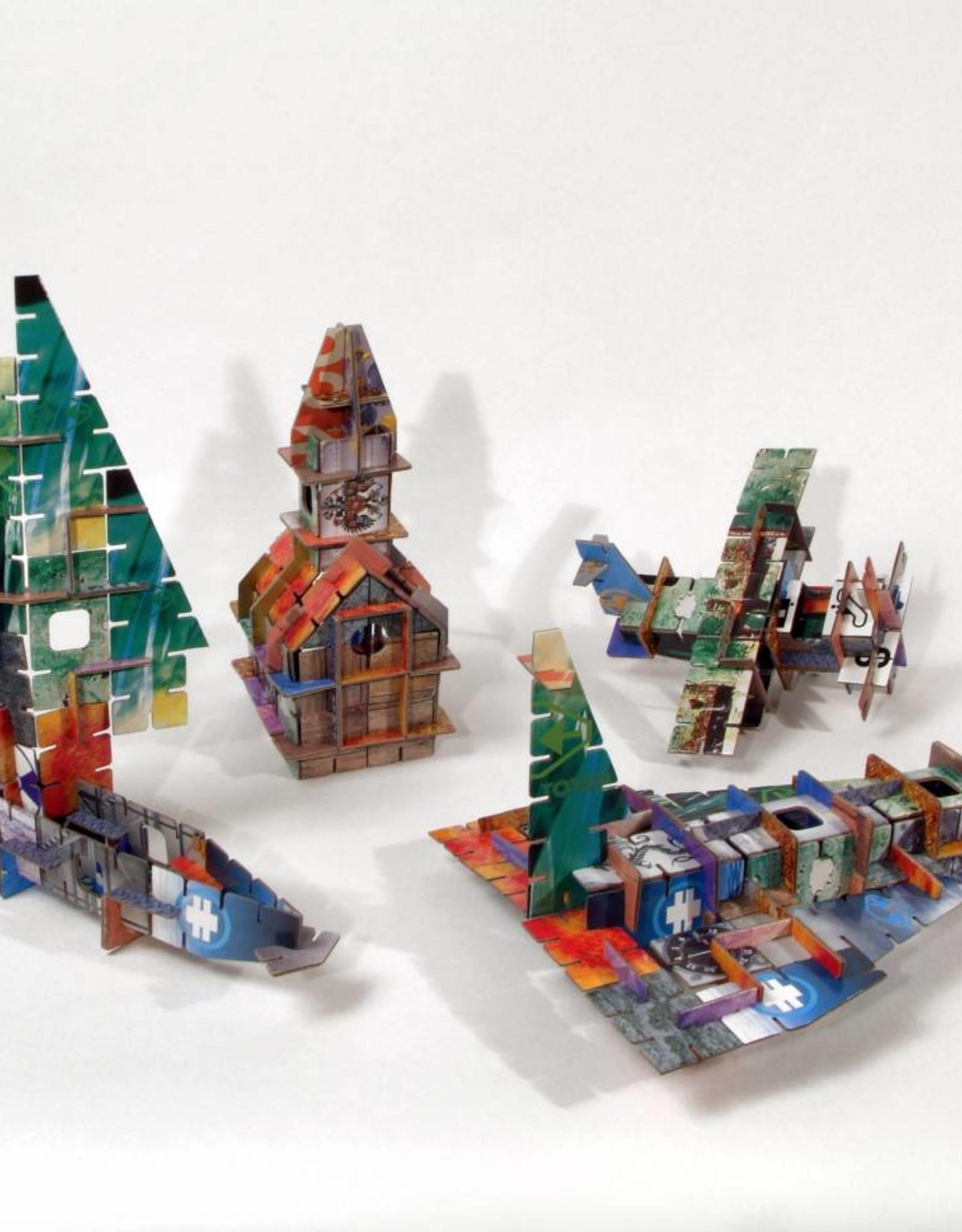 Kidsonroof Totem City van Kidsonroof