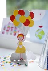 Kidsonroof Pop Out Girl van Kidsonroof