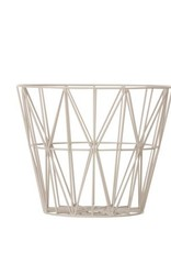 Ferm Living Wire Basket Grey Small
