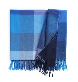 Elvang Inca plaid blue