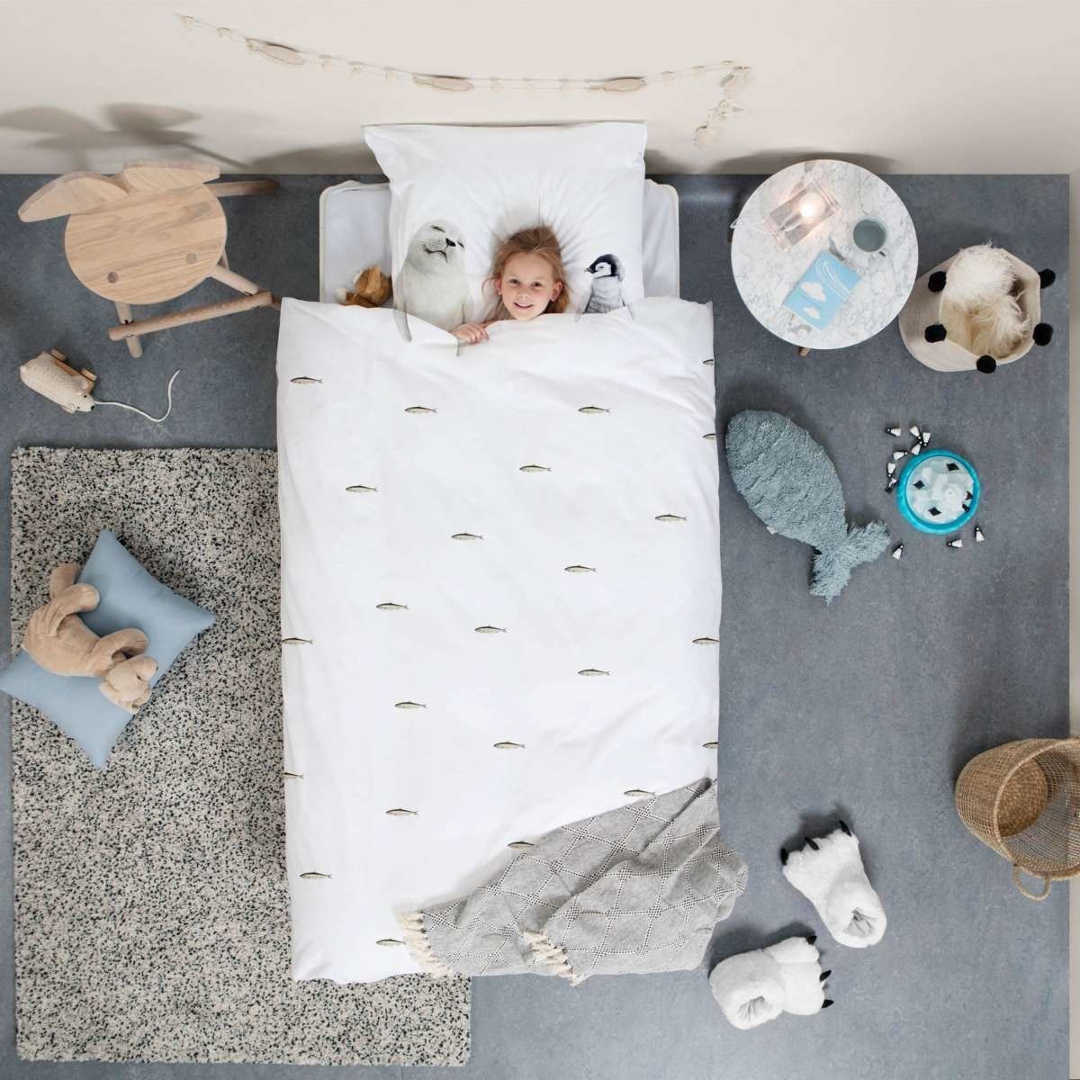 Snurk Beautiful Artic Friends Bedding
