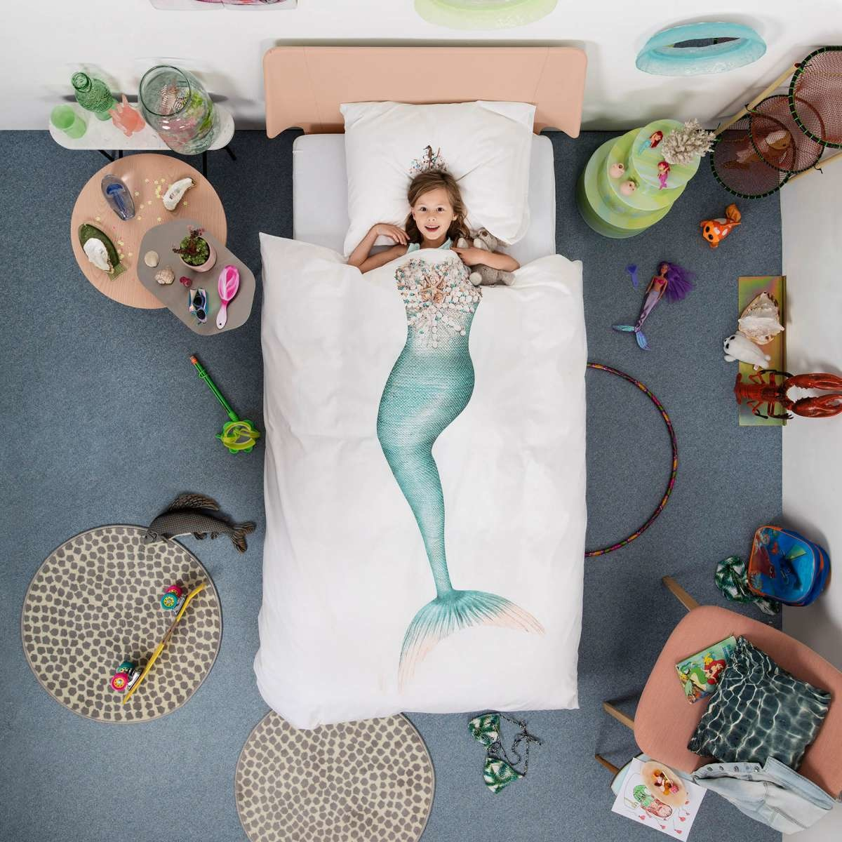 Snurk Mermaid Quilt Bedding