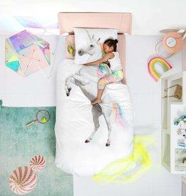 Snurk White Unicorn Duvet