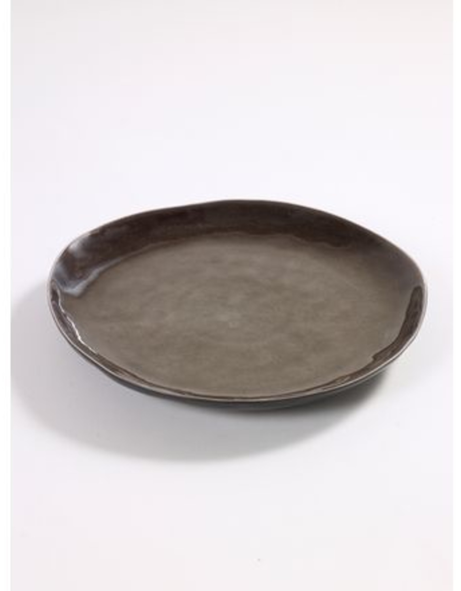 Serax Grey Plate Large